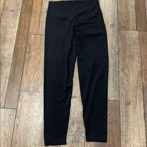 Black leggings large